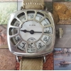 Elgin Trench Watch in Rare Fahys Armored Case