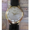 Longines round solid 14kt gold fancy foldover lugs