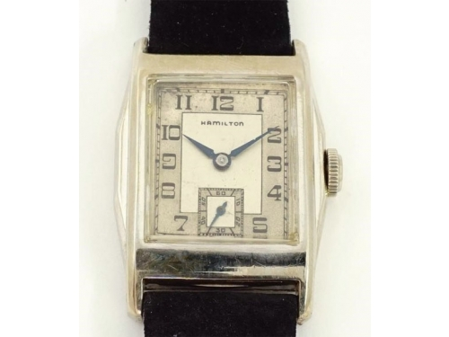 Hamilton Merritt scarce white gold filled version