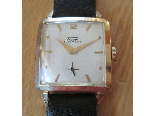 Tissot large square automatic
